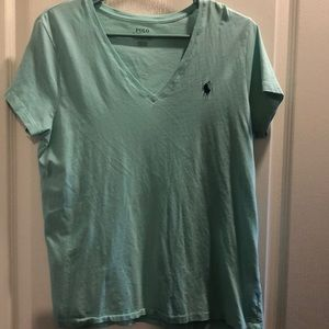 💗💗Ralph Lauren Women's V neck T-shirt
